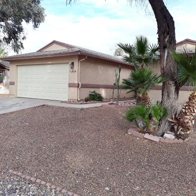 Tucson Single Family Home For Sale: 2670 W Sandbrook Lane
