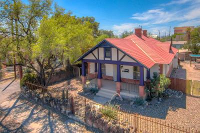 Tucson Single Family Home For Sale: 320 E 4th Street