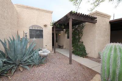 Tucson Townhouse For Sale: 4665 E Via Pimeria Alta