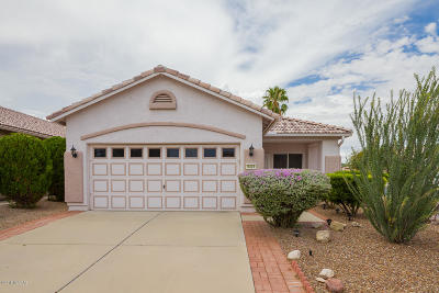 Tucson Single Family Home Active Contingent: 9325 N Scarlet Canyon Drive