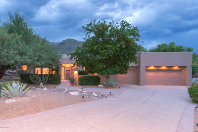Single Family Home Active Contingent: 6439 N Desert Wind Circle