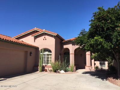 Single Family Home Active Contingent: 6535 N Desert Breeze Court