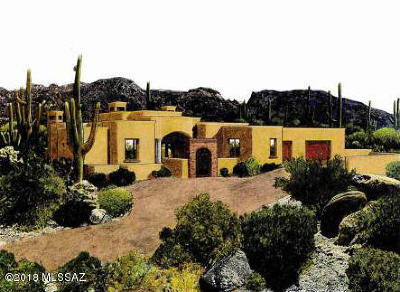 Tucson Single Family Home For Sale: 7858 N Ancient Indian Drive