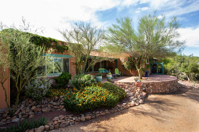Tucson Single Family Home Active Contingent: 1546 N Plaza De Lirios