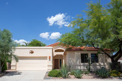 Tucson Single Family Home Active Contingent: 476 W Spearhead Road