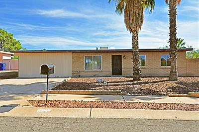 Tucson Single Family Home Active Contingent: 9582 E 28th Street
