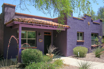 Tucson Single Family Home Active Contingent: 496 E Downtown Street