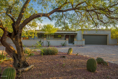 Tucson Single Family Home Active Contingent: 5264 N Coronado Place