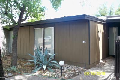 Tucson Townhouse For Sale: 5701 E Glenn Street #44