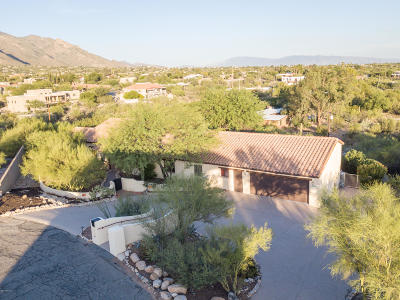 Tucson Single Family Home Active Contingent: 7040 N Camino De Fray Marcos