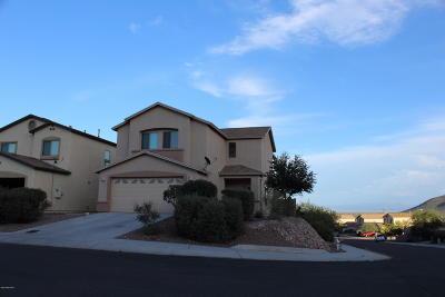 Tucson Single Family Home Active Contingent: 7231 S Camino Secreto