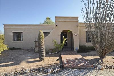 Tucson Single Family Home For Sale: 7370 E Wikieup Circle