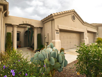 Oro Valley Townhouse For Sale: 13401 N Rancho Vistoso Boulevard #122