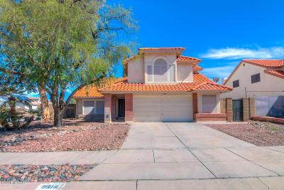 Tucson Single Family Home Active Contingent: 9614 E Adare Lane