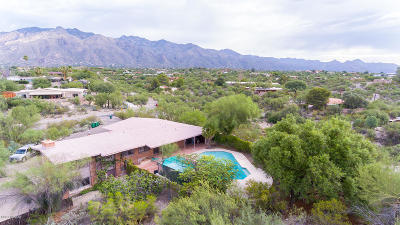 Tucson Single Family Home Active Contingent: 4720 E Calle Barril