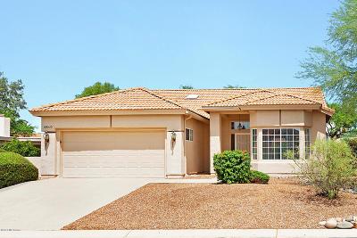 Saddlebrooke Single Family Home Active Contingent: 64530 E Canyon Shadows Lane