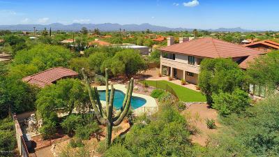 Single Family Home Active Contingent: 5816 N Camino Arturo