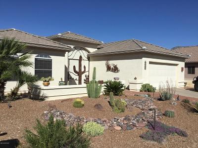 Saddlebrooke Single Family Home For Sale: 37495 S Desert Star Court