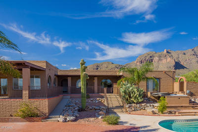 Tucson Single Family Home For Sale: 7107 N Chimney Rock Place