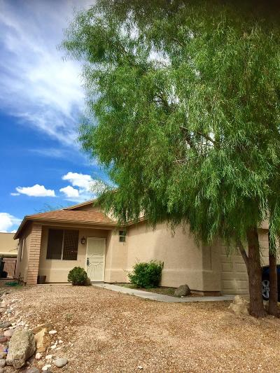 Single Family Home Active Contingent: 10243 E Desert Skyline Way