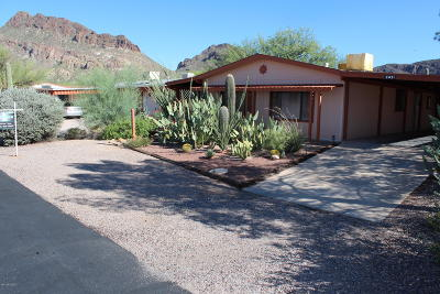 Tucson AZ Manufactured Home Active Contingent: $115,000