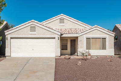 Oro Valley Single Family Home For Sale: 11909 N Copper Creek Drive