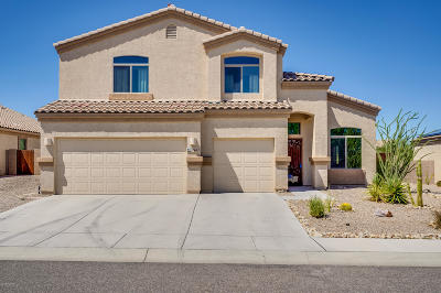 Tucson Single Family Home Active Contingent: 7863 N Window Trail
