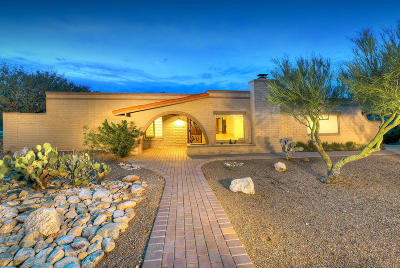 Tucson Single Family Home For Sale: 3776 E Nugget Canyon Place
