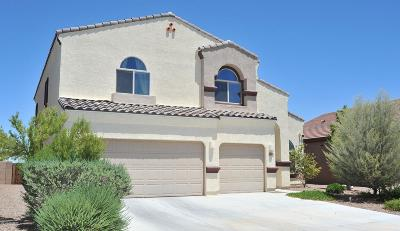 Tucson Single Family Home Active Contingent: 9855 N Crook Lane