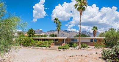 Tucson Single Family Home For Sale: 4525 E Calle Del Pantera