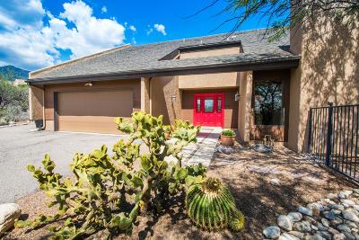 Tucson Single Family Home Active Contingent: 6126 E Paseo Ventoso