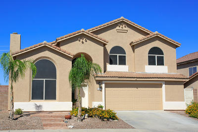 Single Family Home For Sale: 1437 N Red Yucca Trail