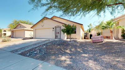 Single Family Home Active Contingent: 10131 E Paseo Juan Tabo