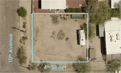 Tucson Residential Lots & Land Active Contingent: 130 W 4th Street #1