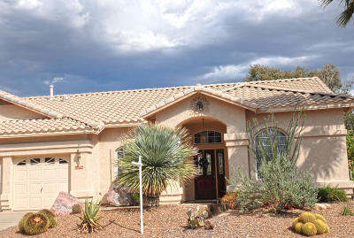 Tucson Single Family Home For Sale: 10796 N Glen Abbey Drive