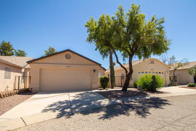 Tucson Single Family Home Active Contingent: 8142 N Millwheel Place