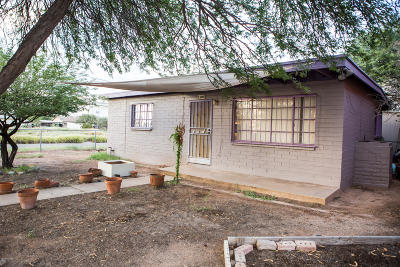 Tucson Single Family Home Active Contingent: 1101 S Fremont Avenue