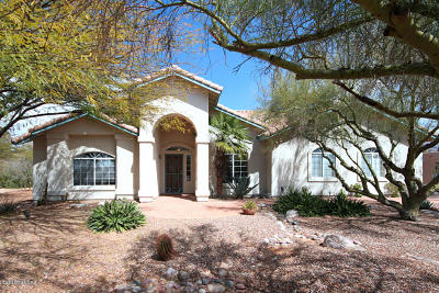 Tucson Single Family Home Active Contingent: 2590 W La Cresta Road
