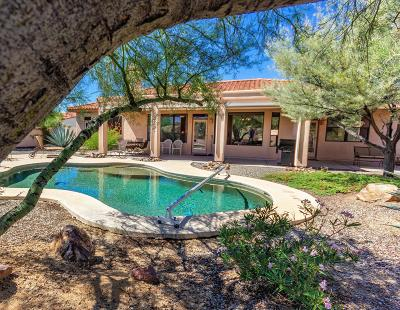 Tucson Single Family Home Active Contingent: 9995 N Sumter Creek Place