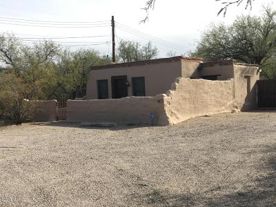 Tucson Single Family Home For Sale: 5354+5360 E Fort Lowell Road