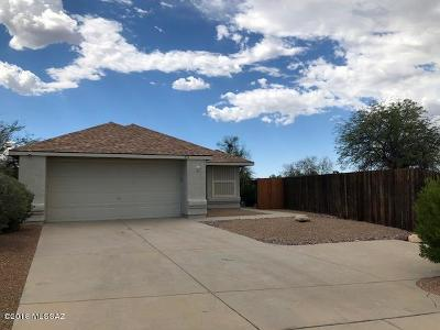 Tucson Single Family Home Active Contingent: 1151 N Saddlewood Ranch Drive