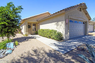 Tucson Single Family Home Active Contingent: 2241 W Catalina View Drive