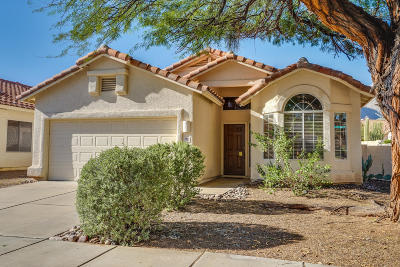 Tucson Single Family Home Active Contingent: 7831 E Calle Bien Nacida