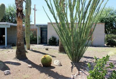 Tucson Single Family Home Active Contingent: 7501 N Heathcliff Avenue