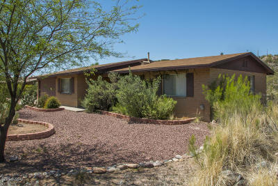 Tucson Single Family Home For Sale: 5241 N Rocky Ridge Place