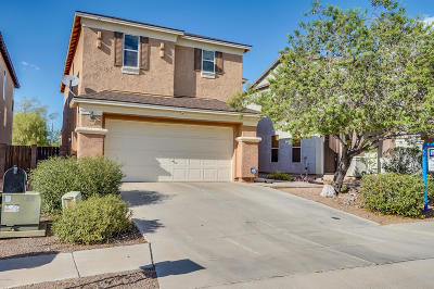Tucson Single Family Home For Sale: 2760 W Leafwing Drive