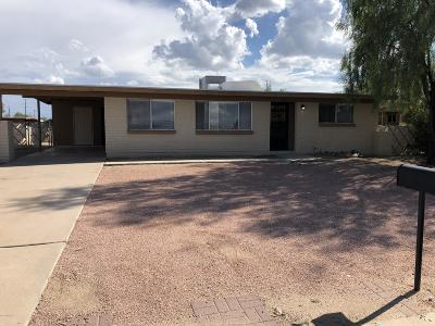 Tucson Single Family Home Active Contingent: 4551 W Calle Jocobo