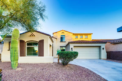 Tucson Single Family Home Active Contingent: 7934 N Blakey Lane