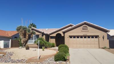 Tucson Single Family Home Active Contingent: 65570 E Canyon Drive