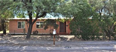 Tucson Single Family Home Active Contingent: 4724 E Towner Street